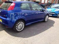 FIAT PUNTO GRANDE 1.4 SPORTING BLUE 2007