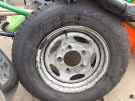 Discovery 2 spare wheel