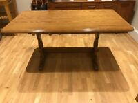 Solid wood ERCOL dining table