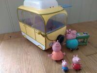 Big bundle of Peppa pig toys