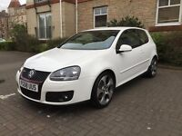 """Volkswagen Golf GTI Mk5 - rare candy white, low miles, 18"""" alloys, heated leather interior"""