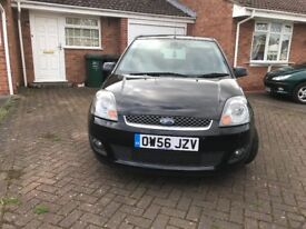 2007 FORD FIESTA 1.4 ZETEC CLIMATE 5 DOOR BLACK, ONLY 62,705 MILES, FULL SERVICE HISTORY