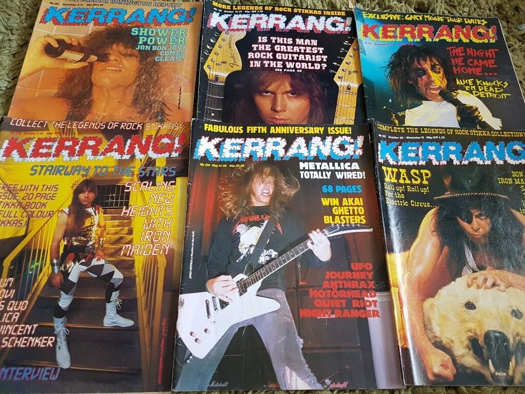 Over 400 KERRANG, RAW, METAL HAMMER, CLASSIC PROG / ROCK, MUSIC MAGAZINES |  in Maidstone, Kent | Gumtree