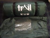 Trail Double Self-Inflating Camping Mat - Green / Black