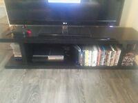 NEXT gloss black TV Stand