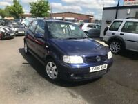 2001 Volkswagen Polo 1.4 SE 5dr LOW MILES+AUTO+ALLOYS