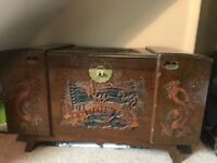 Camphor chest/trunk