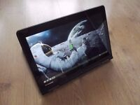Lenovo ThinkPad S1 Yoga 2-in-1 notebook converting to tablet mode