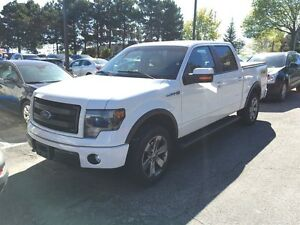 2013 Ford F-150 FX4, LEATHER, NAV, ONE OWNER