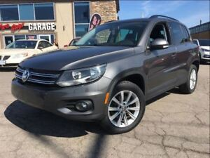 2013 Volkswagen Tiguan COMFORTLINE NAV 4MOTION LEATHER SUNROOF