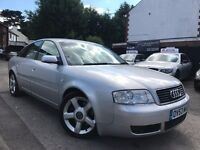 Audi A6 2.5 TDI Automatic Full Service History 2 Owners 3 Months Warranty Long MOT Leather seats
