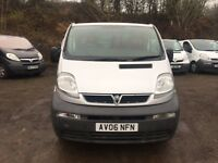 2006 VAUXHALL VIVARO TRAFIC 1.9 CDTI 6 SPEED SILVER LWB WE ARE VIVARO/PRIMASTAR/TRAFIC SPECIALISTS