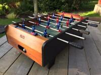 Tabletop table football