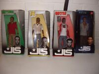 jls set of 4 dolls collectable brand new in boxes