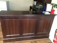 Office Counter for Sale & Matching Shelving Unit