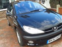 Peugeot 206 GLX 1.6, 2 Owners from new, low mileage.