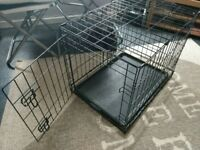 Small pet dog cage
