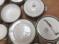 Royal Worcester Porcelain China Dinner service