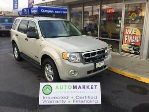 2008 Ford Escape XLT 4WD V6 HEATED LEATHER! SYNC! WARRANTY!