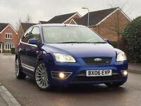FORD FOCUS ST, XENNON LIGHTS, RS ALLOYS, FULL SERVICE HISTORY, 2KEYS, PART EXCHANGE WELCOME