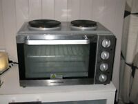Silver Morphy Richards Convection Mini Oven