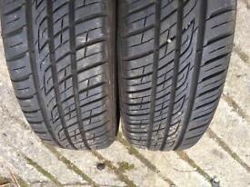 175/65/15 tyres x2