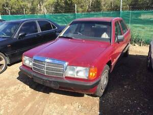 WRECKING 1993 MODEL MERCEDES BENZ 180E Willawong Brisbane South West Preview