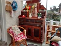 Dresser in need of TLC. Has some nice features and great character.