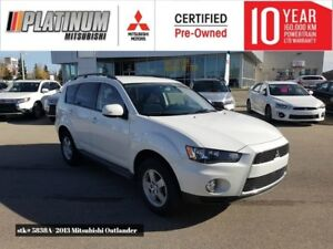 2013 Outlander LS-AWC- 7 passenger seating,bluetooth *Approved*