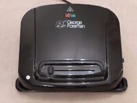 GEORGE FOREMAN 20850 Entertaining Grill - Black - Very Good Condition