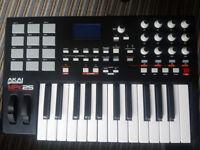 AKAI MPK 25 UDB/MIDI Performance Keyboard
