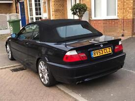 320 (2.2) msport convertible MUST GO