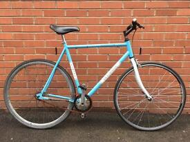 Viking Race Master Mens Retro Vintage Road Bike 21 Inch Frame Single Speed Excellent Condition