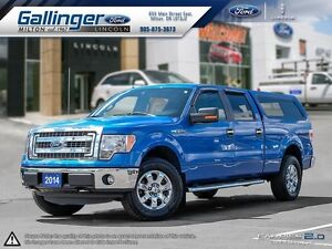 2014 Ford F-150 XLT w/XTR PKG AND MATCHING TRUCK CAP