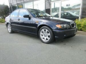 2004 BMW 3 Series 325I W/ ALLOYS LEATHER HEATED FRONT SEATS SUNR