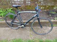 bianchi flat bar road bike alloy/carbon 53cm