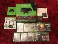 Xbox One, Games and accessories