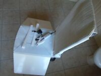 AQUATEC ORCA MOBILITY BATHLIFT/CHAIR WITH BOX AND FULL INSTRUCTIONS