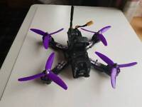 Fpv racing drone with 2 pairs of fpv goggles