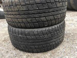215/55/17 Dunlop winter tires