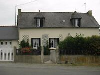 3/4 bedroom detached house Brittany France Beautiful with land cote d'amor