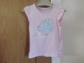 Girls Mothercare T-shirt Age 2-3