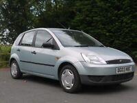 Ford, FIESTA, Hatchback, 2003, Manual, 1299 (cc), 5 doors