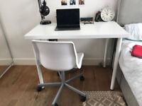ADILS/LINNMON IKEA white desk 10£