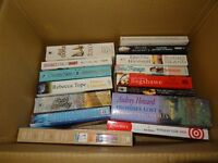 A SELECTION OF 15 USED BOOKS IN GOOD READABLE CONDITION