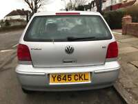 VW POLO 1.4 5 Door Petrol Manual LONG MOT