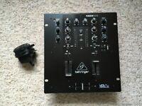 Behringer NOX101 2 Channel Pro DJ Mixer