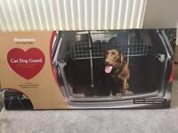 Rosewood car dog guard - never used!