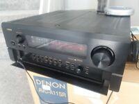 Denon AVC-A11SR AV Surround Amplifier dolby,thx 7.1 Stereo