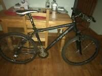 Cube ltd 18 inch mountain bike